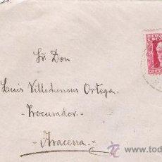 Sellos: CARTA DE GALAROZA A ARACENA. DEL 30 DE JULIO DE 1934. FRANQUEADO CON SELLO 659.. Lote 27380997