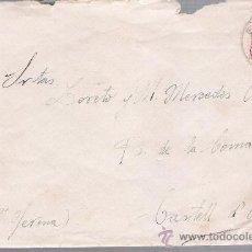 Sellos: CARTA DE EL PARDO A CASTELL DÁRO. DE 22 SEPTIEMBRE DE 1932. FRANQUEADO CON SELLO 659.. Lote 27403907