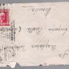 Sellos: CARTA DE SEVILLA A RONDA. DE 26 AGOSTO 1932. FRANQUEADO CON SELLO 659.. Lote 27404049