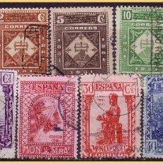 Sellos: 1931 MONTSERRAT. TERRESTRE, EDIFIL Nº 636 A 644 (O). Lote 28234554
