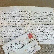 Sellos: CARTA CIRCULADA, CASINOS, VALENCIA, CEUTA, 1935, REPUBLICA ESPAÑOLA, HOGAR DEL SOLDADO. Lote 28426643