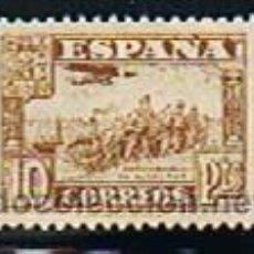 Sellos: ESPAÑA 1937 JUNTA DEFENSA NACIONAL (813) DESEMBARCO ALGECIRAS. NUEVO * . Lote 28818211