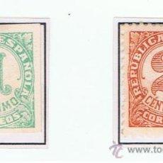 Selos: CIFRAS 1933 EDIFIL 677-8 NUEVO* VALOR 2010 CATALOGO 0.60 EUROS SERIE COMPLETA. Lote 29036886
