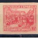 Sellos: CORREO DE CAMPAÑA 1939 NUEVO(*) EDIFIL NE49 SIN DENTAR VALOR 2012 CATALOGO 73 EUROS. Lote 163962194
