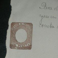 Sellos: PAGOS AL ESTADO, UNA PESETA. TIMBRES, MULTAS.. Lote 33551432