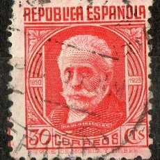 Sellos: 734 30 CTS PABLO IGLESIAS (CL) 1936. Lote 35626675