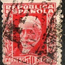 Sellos: 669 30 CENTIMOS PABLO IGLESIAS 1932-1934. Lote 35627335