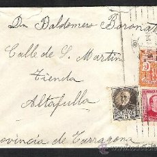 Sellos: CARTA SOBRE CIRCULADO 2A REPUBLICA BARCELONA SELLO PI Y MARGALL AYUNTAMIENTO. Lote 36115919