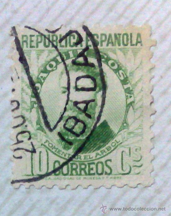 Sellos: CIRCA 1930-1940.-II REPUBLICA ESPAÑOLA,- HOJA CON COLECCIÓN DE 47 SELLOS DE LA ÉPOCA - Foto 20 - 36152588