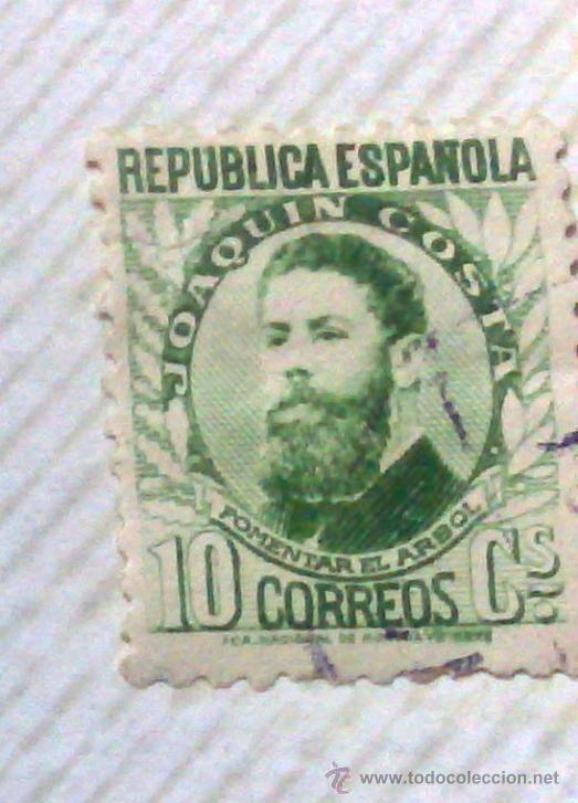 Sellos: CIRCA 1930-1940.-II REPUBLICA ESPAÑOLA,- HOJA CON COLECCIÓN DE 47 SELLOS DE LA ÉPOCA - Foto 21 - 36152588