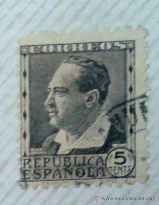 Sellos: CIRCA 1930-1940.-II REPUBLICA ESPAÑOLA,- HOJA CON COLECCIÓN DE 47 SELLOS DE LA ÉPOCA - Foto 24 - 36152588