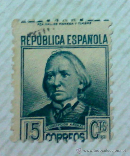 Sellos: CIRCA 1930-1940.-II REPUBLICA ESPAÑOLA,- HOJA CON COLECCIÓN DE 47 SELLOS DE LA ÉPOCA - Foto 25 - 36152588