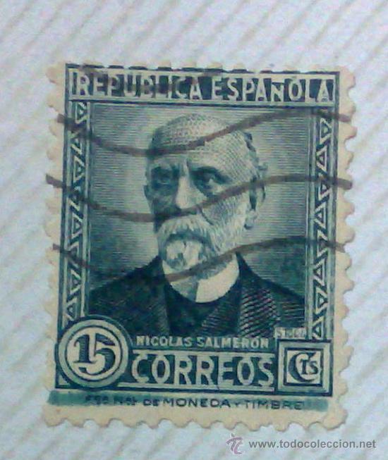 Sellos: CIRCA 1930-1940.-II REPUBLICA ESPAÑOLA,- HOJA CON COLECCIÓN DE 47 SELLOS DE LA ÉPOCA - Foto 31 - 36152588