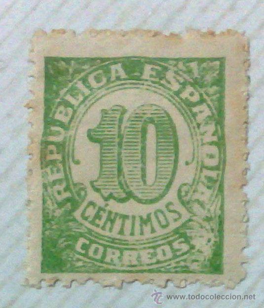 Sellos: CIRCA 1930-1940.-II REPUBLICA ESPAÑOLA,- HOJA CON COLECCIÓN DE 47 SELLOS DE LA ÉPOCA - Foto 34 - 36152588