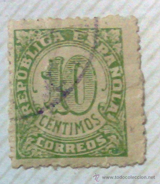 Sellos: CIRCA 1930-1940.-II REPUBLICA ESPAÑOLA,- HOJA CON COLECCIÓN DE 47 SELLOS DE LA ÉPOCA - Foto 36 - 36152588
