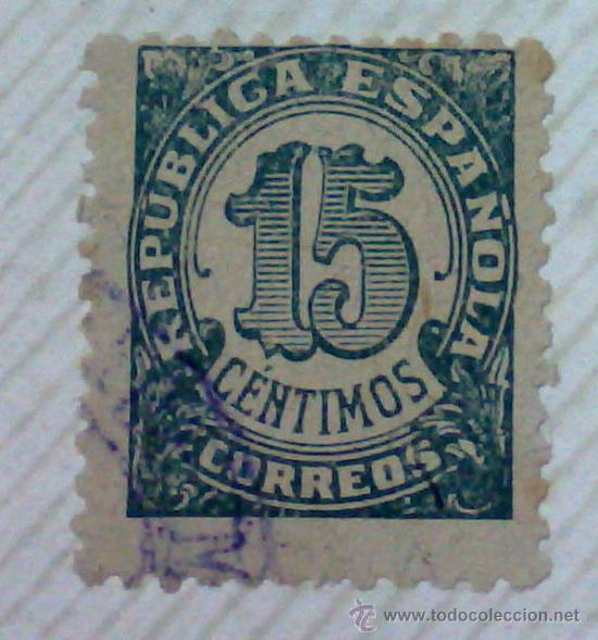 Sellos: CIRCA 1930-1940.-II REPUBLICA ESPAÑOLA,- HOJA CON COLECCIÓN DE 47 SELLOS DE LA ÉPOCA - Foto 38 - 36152588