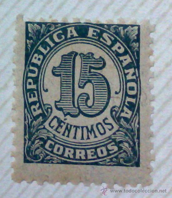 Sellos: CIRCA 1930-1940.-II REPUBLICA ESPAÑOLA,- HOJA CON COLECCIÓN DE 47 SELLOS DE LA ÉPOCA - Foto 39 - 36152588