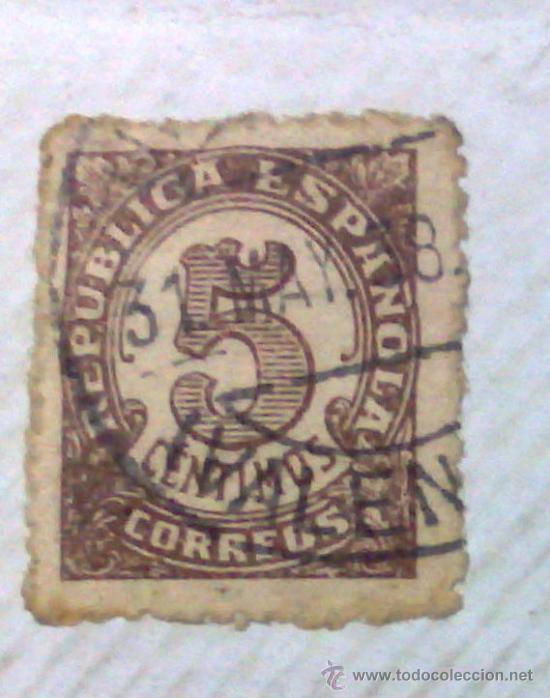 Sellos: CIRCA 1930-1940.-II REPUBLICA ESPAÑOLA,- HOJA CON COLECCIÓN DE 47 SELLOS DE LA ÉPOCA - Foto 7 - 36152588