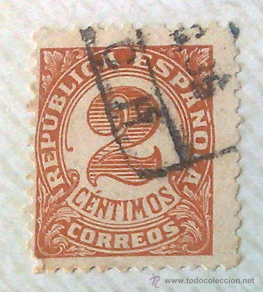 Sellos: CIRCA 1930-1940.- II REPÚBLICA ESPAÑOLA,- .-HOJA CON COLECCIÓN DE 19 SELLOS DE LA ÉPOCA. - Foto 12 - 36189333