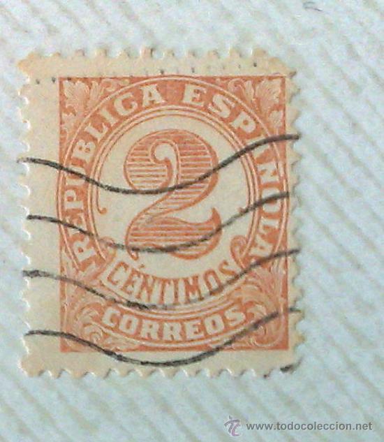 Sellos: CIRCA 1930-1940.- II REPÚBLICA ESPAÑOLA,- .-HOJA CON COLECCIÓN DE 19 SELLOS DE LA ÉPOCA. - Foto 13 - 36189333