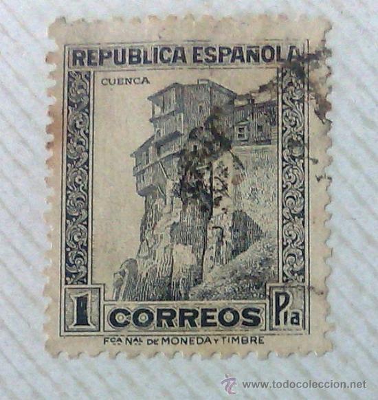 Sellos: CIRCA 1930-1940.- II REPÚBLICA ESPAÑOLA,- .-HOJA CON COLECCIÓN DE 19 SELLOS DE LA ÉPOCA. - Foto 17 - 36189333