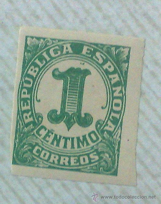 Sellos: CIRCA 1930-1940.- II REPÚBLICA ESPAÑOLA,- .-HOJA CON COLECCIÓN DE 19 SELLOS DE LA ÉPOCA. - Foto 5 - 36189333