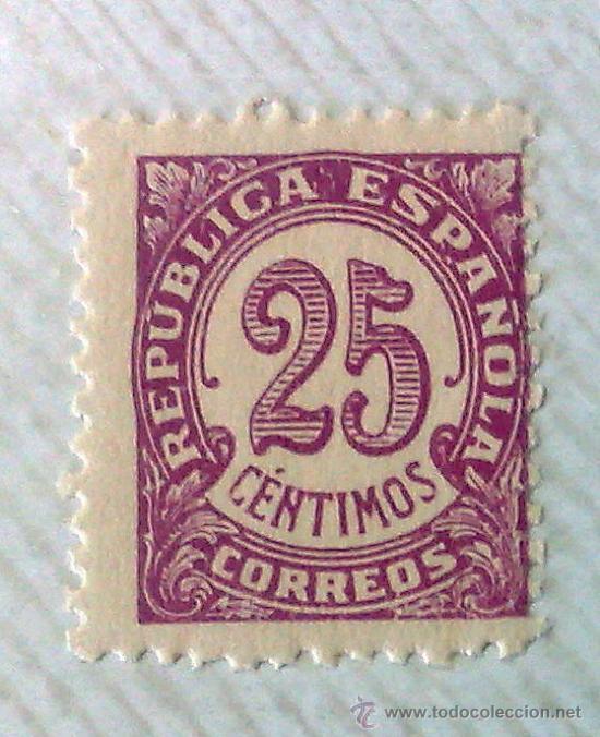 Sellos: CIRCA 1930-1940.- II REPÚBLICA ESPAÑOLA,- .-HOJA CON COLECCIÓN DE 19 SELLOS DE LA ÉPOCA. - Foto 7 - 36189333