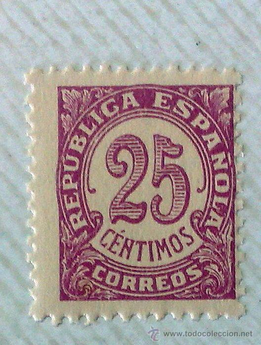 Sellos: CIRCA 1930-1940.- II REPÚBLICA ESPAÑOLA,- .-HOJA CON COLECCIÓN DE 19 SELLOS DE LA ÉPOCA. - Foto 8 - 36189333