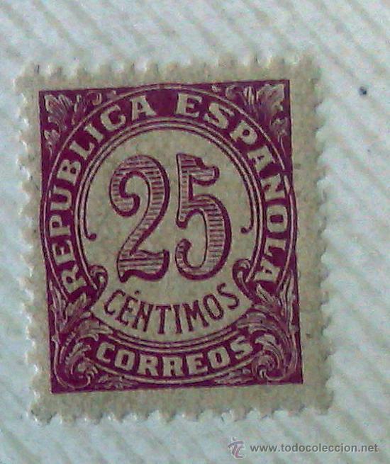 Sellos: CIRCA 1930-1940.- II REPÚBLICA ESPAÑOLA,- .-HOJA CON COLECCIÓN DE 19 SELLOS DE LA ÉPOCA. - Foto 9 - 36189333
