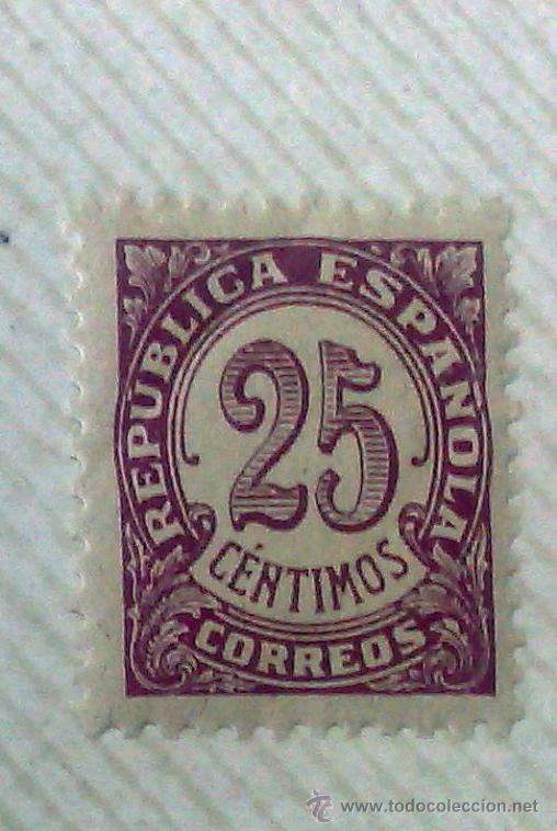 Sellos: CIRCA 1930-1940.- II REPÚBLICA ESPAÑOLA,- .-HOJA CON COLECCIÓN DE 19 SELLOS DE LA ÉPOCA. - Foto 10 - 36189333