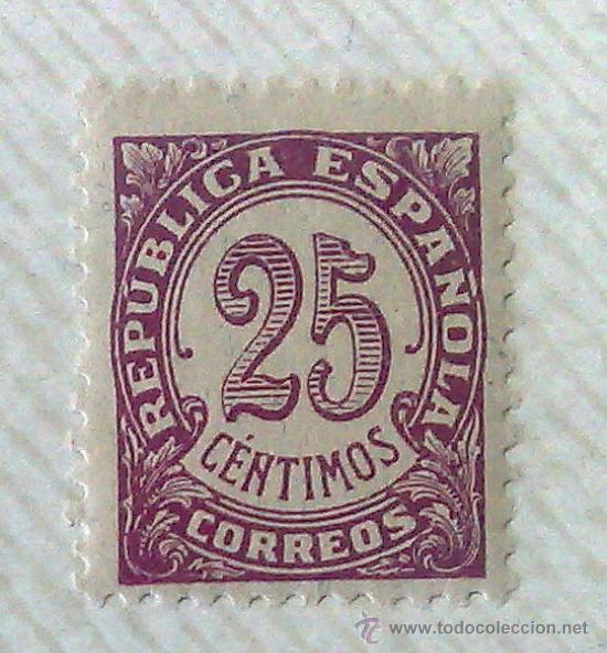 Sellos: CIRCA 1930-1940.- II REPÚBLICA ESPAÑOLA,- .-HOJA CON COLECCIÓN DE 19 SELLOS DE LA ÉPOCA. - Foto 11 - 36189333