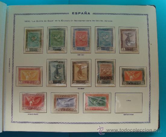 Sellos: ALBUN COLECCION DE SELLOS ESPAÑA DESDE 1930 A 1949, NUEVOS CON FIJASELLOS Y CIRCULADOS, 65 PAGINAS - Foto 7 - 37442271