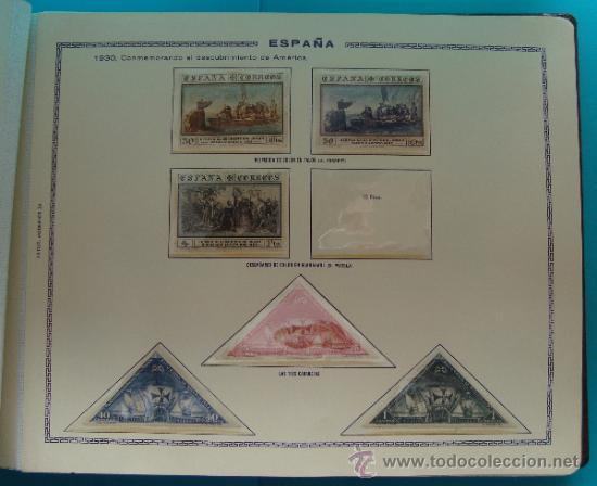 Sellos: ALBUN COLECCION DE SELLOS ESPAÑA DESDE 1930 A 1949, NUEVOS CON FIJASELLOS Y CIRCULADOS, 65 PAGINAS - Foto 9 - 37442271