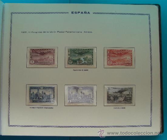 Sellos: ALBUN COLECCION DE SELLOS ESPAÑA DESDE 1930 A 1949, NUEVOS CON FIJASELLOS Y CIRCULADOS, 65 PAGINAS - Foto 17 - 37442271