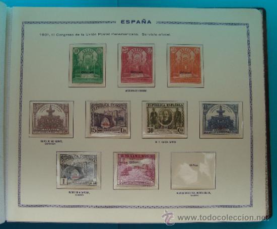 Sellos: ALBUN COLECCION DE SELLOS ESPAÑA DESDE 1930 A 1949, NUEVOS CON FIJASELLOS Y CIRCULADOS, 65 PAGINAS - Foto 18 - 37442271