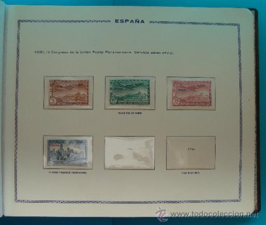 Sellos: ALBUN COLECCION DE SELLOS ESPAÑA DESDE 1930 A 1949, NUEVOS CON FIJASELLOS Y CIRCULADOS, 65 PAGINAS - Foto 19 - 37442271