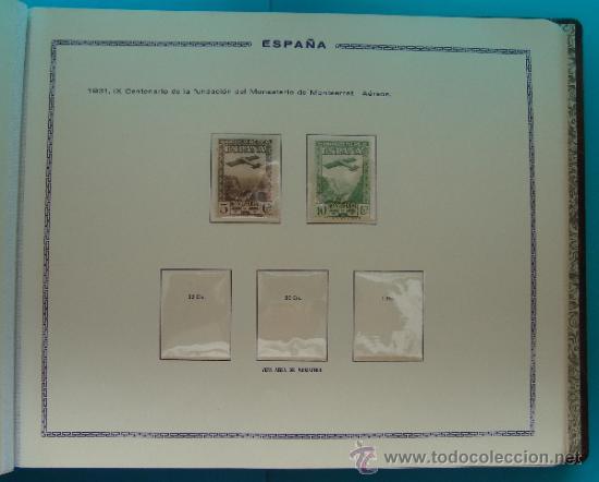 Sellos: ALBUN COLECCION DE SELLOS ESPAÑA DESDE 1930 A 1949, NUEVOS CON FIJASELLOS Y CIRCULADOS, 65 PAGINAS - Foto 21 - 37442271