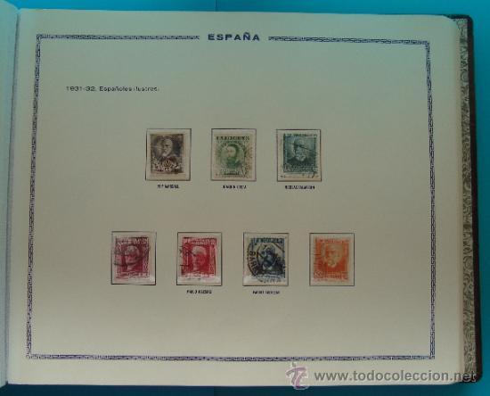 Sellos: ALBUN COLECCION DE SELLOS ESPAÑA DESDE 1930 A 1949, NUEVOS CON FIJASELLOS Y CIRCULADOS, 65 PAGINAS - Foto 22 - 37442271