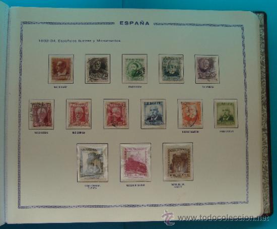 Sellos: ALBUN COLECCION DE SELLOS ESPAÑA DESDE 1930 A 1949, NUEVOS CON FIJASELLOS Y CIRCULADOS, 65 PAGINAS - Foto 23 - 37442271