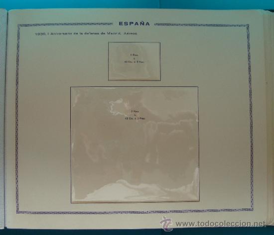 Sellos: ALBUN COLECCION DE SELLOS ESPAÑA DESDE 1930 A 1949, NUEVOS CON FIJASELLOS Y CIRCULADOS, 65 PAGINAS - Foto 31 - 37442271