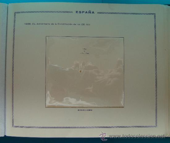 Sellos: ALBUN COLECCION DE SELLOS ESPAÑA DESDE 1930 A 1949, NUEVOS CON FIJASELLOS Y CIRCULADOS, 65 PAGINAS - Foto 33 - 37442271
