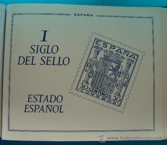 Sellos: ALBUN COLECCION DE SELLOS ESPAÑA DESDE 1930 A 1949, NUEVOS CON FIJASELLOS Y CIRCULADOS, 65 PAGINAS - Foto 40 - 37442271