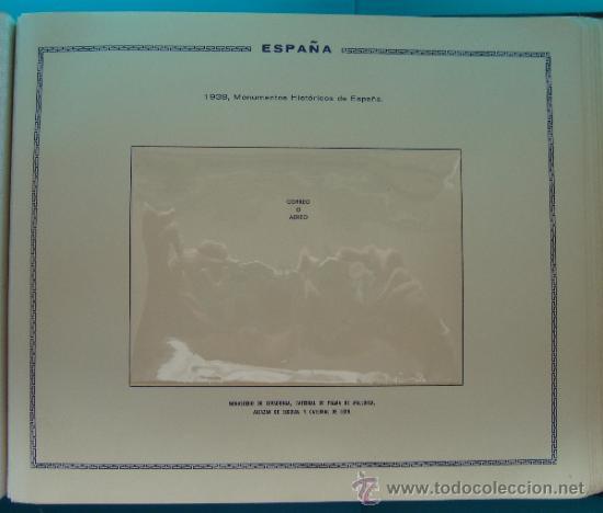Sellos: ALBUN COLECCION DE SELLOS ESPAÑA DESDE 1930 A 1949, NUEVOS CON FIJASELLOS Y CIRCULADOS, 65 PAGINAS - Foto 46 - 37442271
