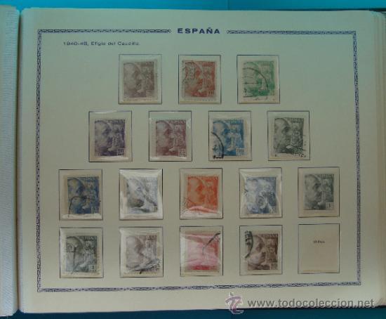 Sellos: ALBUN COLECCION DE SELLOS ESPAÑA DESDE 1930 A 1949, NUEVOS CON FIJASELLOS Y CIRCULADOS, 65 PAGINAS - Foto 55 - 37442271