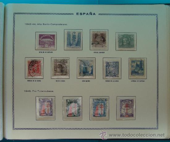 Sellos: ALBUN COLECCION DE SELLOS ESPAÑA DESDE 1930 A 1949, NUEVOS CON FIJASELLOS Y CIRCULADOS, 65 PAGINAS - Foto 58 - 37442271
