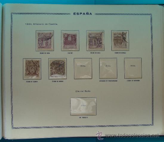 Sellos: ALBUN COLECCION DE SELLOS ESPAÑA DESDE 1930 A 1949, NUEVOS CON FIJASELLOS Y CIRCULADOS, 65 PAGINAS - Foto 59 - 37442271