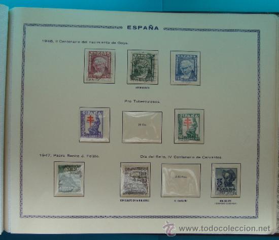 Sellos: ALBUN COLECCION DE SELLOS ESPAÑA DESDE 1930 A 1949, NUEVOS CON FIJASELLOS Y CIRCULADOS, 65 PAGINAS - Foto 62 - 37442271