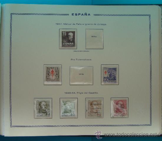Sellos: ALBUN COLECCION DE SELLOS ESPAÑA DESDE 1930 A 1949, NUEVOS CON FIJASELLOS Y CIRCULADOS, 65 PAGINAS - Foto 63 - 37442271