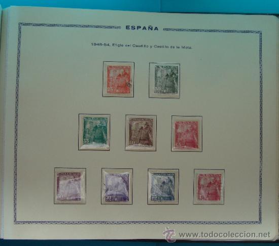 Sellos: ALBUN COLECCION DE SELLOS ESPAÑA DESDE 1930 A 1949, NUEVOS CON FIJASELLOS Y CIRCULADOS, 65 PAGINAS - Foto 64 - 37442271