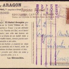 Sellos: ESPAÑA. (CAT. 662). 1932. T. P. TURÍSTICA DE MADRID A ZARAGOZA. 2 CTS. MAGNÍFICA.. Lote 37490777